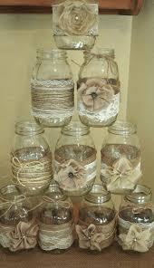 burlap wedding burlap jars set of jar sleeves burlap wedding
