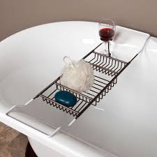 bathtub caddy oil rubbed bronze now that i have a clawfoot tub i need this tub caddy with wine