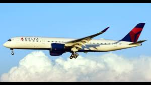 delta airlines first a350 youtube