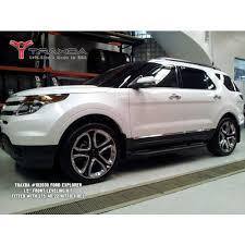 lifted 2013 ford explorer traxda kit 102030 11 14 ford explorer 4x2 4x4 front level kit