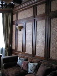 Interior Wall Lining Panels Leather Wall Paneling Luxurious Modern Interior Design Ideas