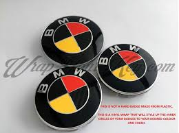Flag Black Red Yellow Germany Deutschland Black Red Yellow Bmw Badge Emblem Overlay Hood