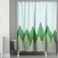 Shower Curtain Green Buy Tree Shower Curtain From Bed Bath U0026 Beyond