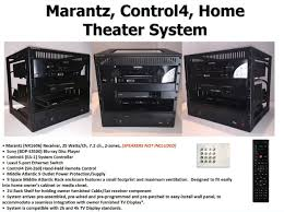 home theater computer case u0026 control4 home theater solution