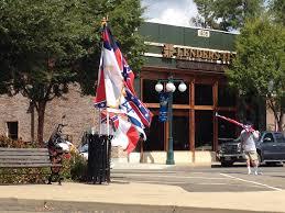 Image Of Confederate Flag Israeli Flag Flies At Confederate Flag Rally Jewschool