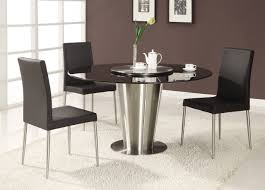 Black Wood Dining Room Table by Modern Round Wood Dining Room Tables Starrkingschool