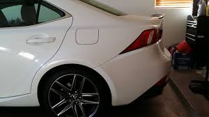 lexus is 250 toronto is250 spoiler clublexus lexus forum discussion