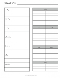 weekly menu planner with grocery list new febrary 2015 page 001
