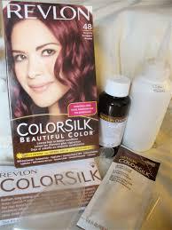 jello ca revlon colorsilk hair dye review in burgundy 48