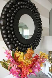 diy giant awesome bubble mirror by creatively living blog