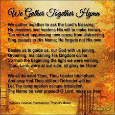 thanksgiving dinner prayer blessing festival collections
