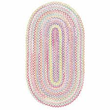 Chenille Braided Rug Pink Braided Rugs Roselawnlutheran