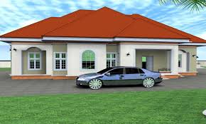 luxury master bedroom 4 bedroom bungalow house plans nigerian