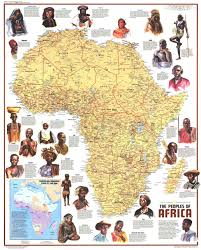 Ancient Africa Map by Geographical Tools Thomasko123