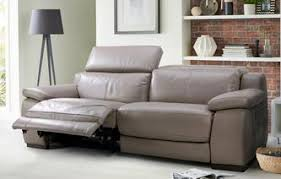 Modern Reclining Leather Sofa Leather Recliner Sofas In Classic Modern Styles Dfs