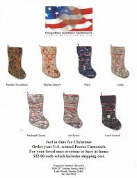 order your cammosock christmas stocking your favorite military
