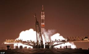 soyuz craft successfully docks at international space station only