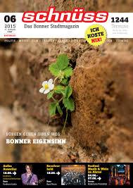 Esszimmer St Le F Schwergewichtige Schnüss 2015 06 By Schnüss Das Bonner Stadtmagazin Issuu