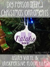 custom tile ornament christmas crafts pinterest ornament