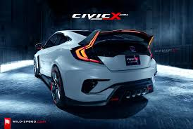 2017 2018 civic type r coupe concept envisioned 2016 honda