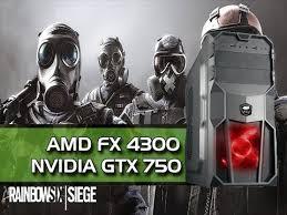 siege pc gamer pc gamer gtx 750ti fx4300 8gb rainbow six siege