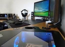 desk beautiful corner gaming computer desk blkfxx s computer