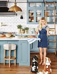 white kitchen cabinets with blue subway tile 30 gorgeous blue kitchen decor ideas digsdigs
