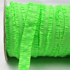 crochet elastic ribbon aliexpress buy 1616221 16mm solid crochet flower fold