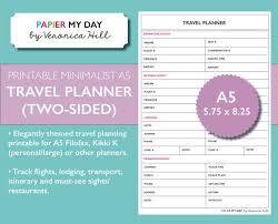 Resume 47 inspirational travel planner template high resolution