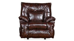 lamesa dark brown leather recliner gallery