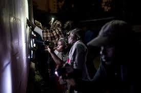 kenyan presidential election is peaceful violence feared over