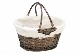 personalized wicker easter baskets fantastic personalized white wicker easter basket with blue liner