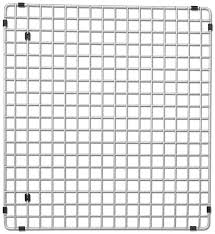 Amazon Com Interdesign Gia Kitchen Sink Protector Wire Grid Mat by Blanco 516367 Sink Grid Fits Precision 16 Inch Drainer Stainless
