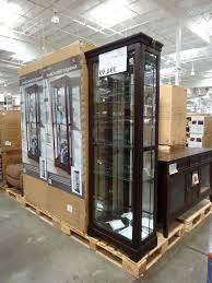 pulaski curio cabinet costco display cabinet costco edgarpoe net