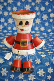 santa pot person 2 by crazycraftingfriends on etsy flower pot