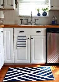 Kitchen Area Rug Awesome Navy Blue Kitchen Area Rug For Modern Kitchen Design With