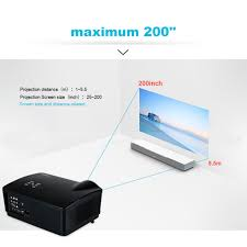 3d home theater projector uhappy 3d hd 1080p led projector 3000 lumen home theater zoom hdmi