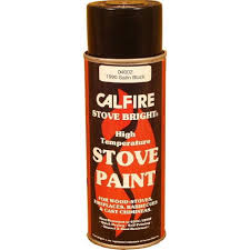 stovebright high temperature paint 6304 400ml aerosol flat