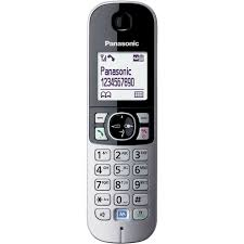 panasonic kx tg6821 dect cordless phone with answerphone and call
