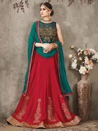 color designer red color designer wedding ethnic bridal lehenga indian ghagra