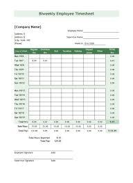 Excel Work Timesheet Template Sheet Form Lotcos