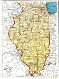 State Map Of Illinois by Illinois Lessons Tes Teach
