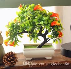 2017 artificial plants bonsai for ornaments home decor