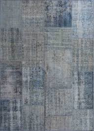 Cool Modern Rugs by Vintage Cool Modern Blue Rug Turkish Home Interior Decor Ideas