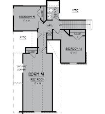Attic Floor Plans by Brookside Floor Plans Regency Homebuilders
