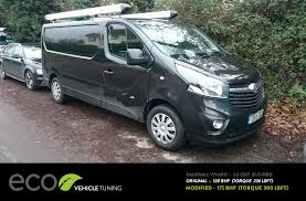 vauxhall vivaro renault trafic biturbo ecu remap eco vehicle