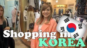 korean fashion shopping sharla in korea youtube