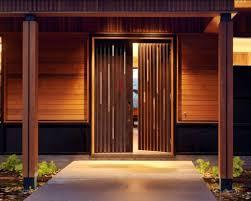 Main Door Simple Design Exteriors Simple Black Rectangle Painted Wood Combine Glass
