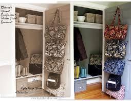 organizing the front entry coat closet bystephanielynn