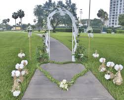 very cheap weddings decoration in florida clearwater beach